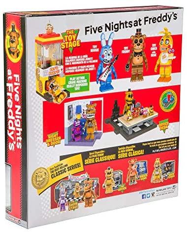 51nH3oeU0fL. AC  - McFarlane Toys Five Nights at Freddy's The Toy Stage Large Set
