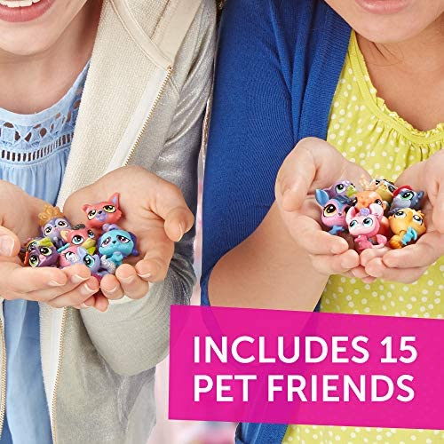 51p6IaKVHTL. AC  - Littlest Pet Shop Pet Party Spectacular Collector Pack Toy, Includes 15 Pets, Ages 4 and Up(Amazon Exclusive)