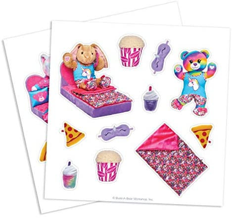 51u7GNiatiL. AC  - CreateOn Build A Bear Cub Condo Magna-Tile Combo Set. The Original Magnetic Building Tiles Together with Reusable Cling Make Playing Fun, Creative & Colorful Toy for Children Ages 3 Years +