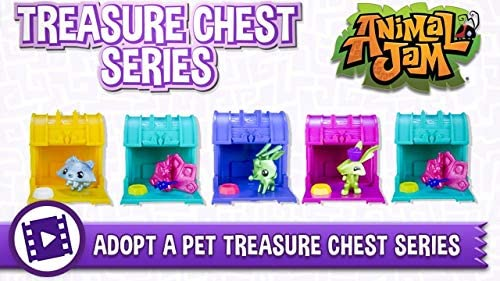 51upbxL4MOL. AC  - Animal Jam Adopt a Pet Treasure Chest Sealed Mystery Box of 24 Chests Game Code