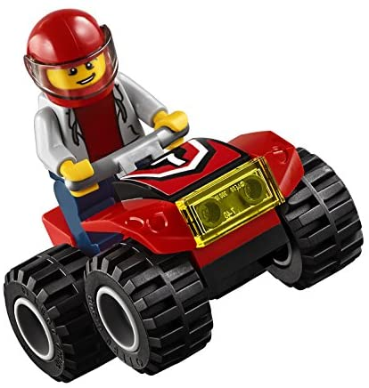 51v+fKdHjpL. AC  - LEGO City ATV Race Team 60148 Building Kit with Toy Truck and Race Car Toys (239 Pieces) (Discontinued by Manufacturer)
