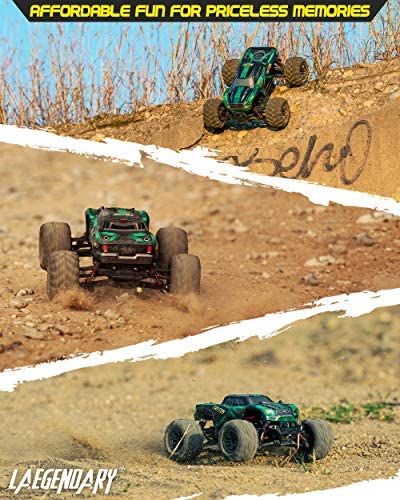 51w Cw5g7tL. AC  - 1:20 Scale RC Cars 30+ kmh High Speed - Boys Remote Control Car 4x4 Off Road Monster Truck Electric - 4WD All Terrain Waterproof Toys Trucks for Kids and Adults - 2 Batteries for 40+ Min Play Time