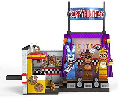 51w6ezV1+kL. AC  - McFarlane Toys Five Nights at Freddy's The Toy Stage Large Set