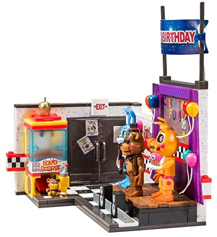 51weivqdqzL. AC  - McFarlane Toys Five Nights at Freddy's The Toy Stage Large Set
