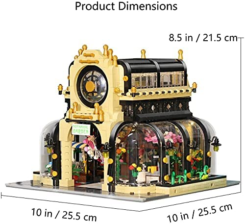 51yBfyPqTFS. AC  - Garden Tree House Set with Lighting Kit, City Creator Building Bricks Blocks for Teens and Adults, Architecture Educational Construction Toy Teen Boy Gifts Compatible with Lego (2147 Pieces)