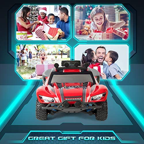 51yUWkxLxwL. AC  - RC Cars, 1/18 Scale High-Speed Remote Control Car for Adults Kids, 40+ kmh 4WD 2.4GHz Off-Road Monster RC Truck, All Terrain Electric Vehicle Toy Boy Gift with 2 Batteries for 40+ Min Play