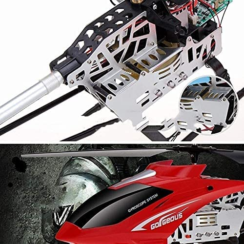 51yszwObx1S. AC  - Remote Control Car, Children Remote Control CarRC Helicopter Remote Control Helicopter Aircraft Toys Photography Large Drop-Resistant Alloy Children'S Toy Model Easy To Learn Good Operation 3.5 Channe