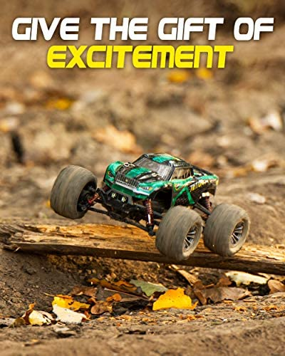 51zwHPNTZpL. AC  - 1:20 Scale RC Cars 30+ kmh High Speed - Boys Remote Control Car 4x4 Off Road Monster Truck Electric - 4WD All Terrain Waterproof Toys Trucks for Kids and Adults - 2 Batteries for 40+ Min Play Time