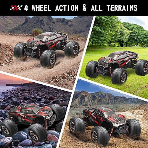 61UTXlyJapL. AC  - LUKAT Remote Control Car, 1:20 Off Road RC Racing Car 26+ Km/h High Speed Electric Monster 4x4 Waterproof Toy Vehicle Truck 2.4Ghz Radio Controlled Car Gift for Adults and Kids, Hobbyist Grade