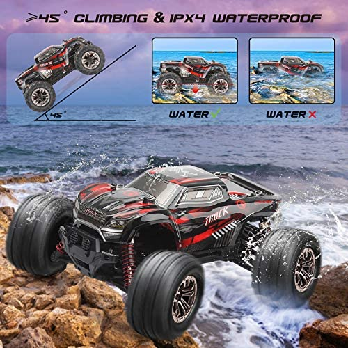61b Agn TKL. AC  - LUKAT Remote Control Car, 1:20 Off Road RC Racing Car 26+ Km/h High Speed Electric Monster 4x4 Waterproof Toy Vehicle Truck 2.4Ghz Radio Controlled Car Gift for Adults and Kids, Hobbyist Grade