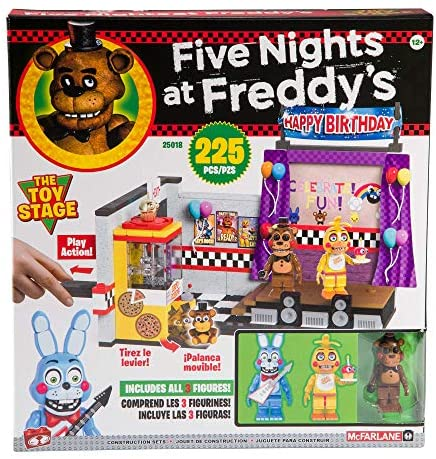 61gMIW31DBL. AC  - McFarlane Toys Five Nights at Freddy's The Toy Stage Large Set