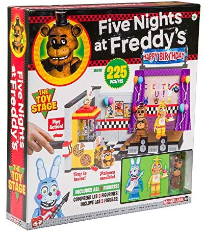 61k1WPQ3fbL. AC  - McFarlane Toys Five Nights at Freddy's The Toy Stage Large Set