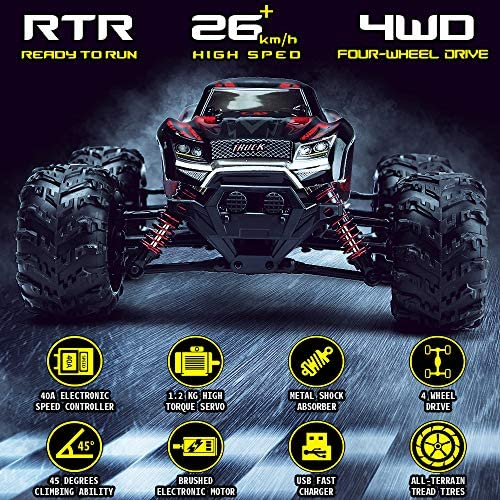 61vQR8RPMKL. AC  - LUKAT Remote Control Car, 1:20 Off Road RC Racing Car 26+ Km/h High Speed Electric Monster 4x4 Waterproof Toy Vehicle Truck 2.4Ghz Radio Controlled Car Gift for Adults and Kids, Hobbyist Grade