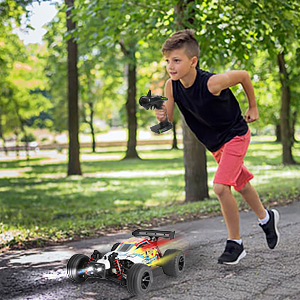79353562 e424 404b 8a7c 7030331b92aa.  CR0,0,300,300 PT0 SX300 V1    - RC Car 1/18 High Speed 4WD Electric Remote Control Car, 30+MPH 2.4GHz All Terrain Off-Road Rally Buggy Racing Cars Toys, with Two Rechargeable Batteries for 40+ Min Play, Gift for Boys Teens Adults