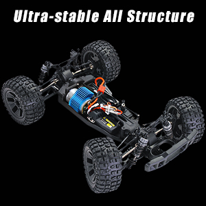 7a60d1a6 2500 4e6d 9337 66c34a3f3512.  CR0,0,300,300 PT0 SX300 V1    - RC Cars 1:10 Scale Large High Speed Remote Control Car for Adults Kids, 48+ kmh 4WD 2.4GHz Off Road Monster Truck Toys, All Terrain Electric Vehicle Boy Gifts with 2 Batteries for 40+ Min Play