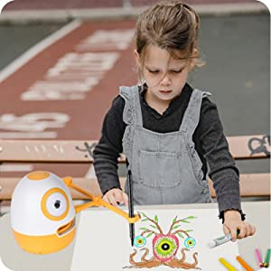7a932ea2 9c2b 4e31 b61f b920dbe960e0.  CR0,0,800,800 PT0 SX300 V1    - WEDRAW Toddler Learning Educational Toys for 3 4 5 year old kids,Interactive Talking Drawing Robot Teach Math Sight Words Preschool Kindergarten Learning Activities Toy Gift for Girls and Boys Age 3-5
