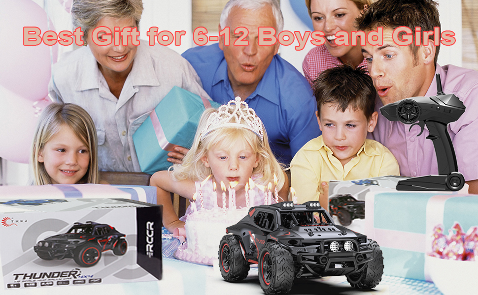 7bb424cc dbdf 444f 9fc1 cfeb2f91bf26.  CR0,0,970,600 PT0 SX970 V1    - Remote Control Car, Uniway Scale RC Cars 4WD 30 KM/H 2.4 GHZ High Speed Racing Car for Boys and Girl 6-12 Gift, 35+ Min Play, RC Trucks 4x4 Offroad with 2 Rechargeable Batteries-Black