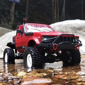 7faeb450 dee9 43bd be83 67191cee7875. CR0,0,300,300 PT0 SX300   - YIKESHU Rc Truck Remote Control Off-Road Racing Vehicles 1:16 2.4G 2CH 4WD Off-Road Kids RC Toy Climb Semi Truck RTR Trailer The LED Lights (Red)