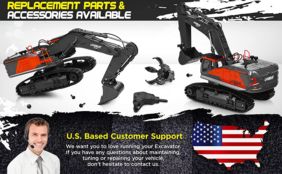 8360f6f0 fb93 4a49 a6e5 739bb852db45.  CR0,0,3880,2400 PT0 SX970 V1    - 1:14 Scale Large Remote Control Excavator Toy for Boys and Adults – Compatible with Dump Truck RC Construction Vehicles - 22 Channel Full Functional Metal Shovel RC Truck - 2 Batteries & 2 Chargers