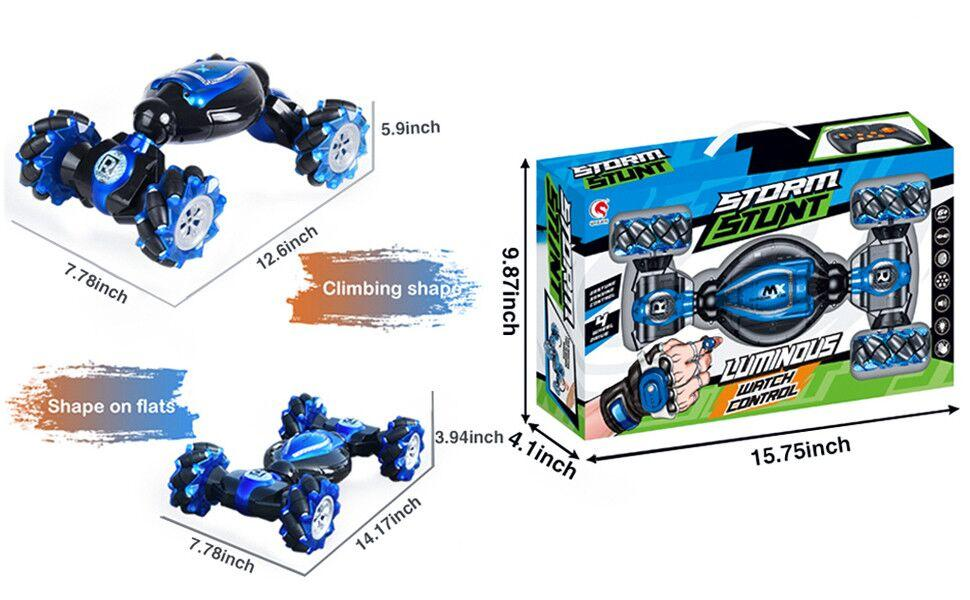 878d4ab1 cd5a 4deb 8deb 704e60970e10.  CR0,0,970,600 PT0 SX970 V1    - RC Stunt Car,1:12 Large RC Drift Car, 4WD 2.4G Gesture Sensing Control Double Sided Rotating Remote Control Car, 360° Flips Twisted Off Road RC Car with 2 Batteries, KB KAIBO Crawler RC Cars for Boys