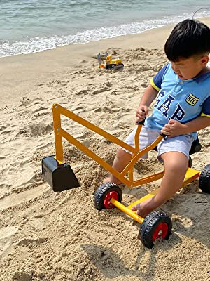 8df8b185 d040 4b4e b9bf 94336c64436b.  CR200,0,1200,1600 PT0 SX300 V1    - Hand-Mart Ride On Sand Digger with Wheels, Sandbox for Kids, Play Toy Excavator Crane with 360° Rotatable Seat for Sand, Snow and Dirt, Heavy Duty Steel Digging Toys for Boys Girls Outdoor