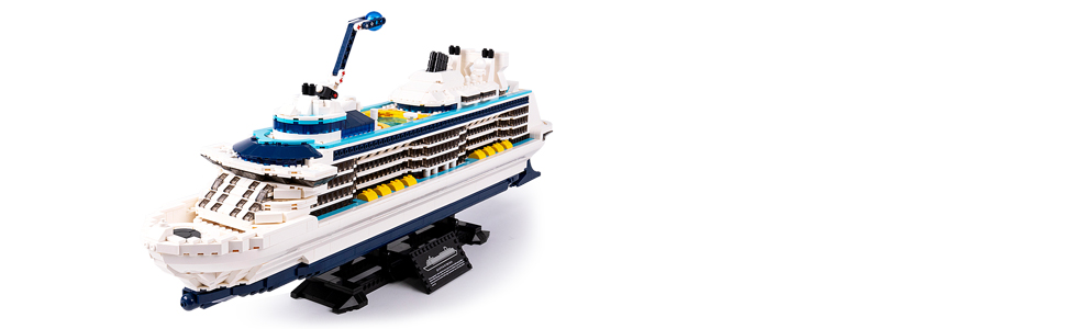 98d0773a 665e 46ed b054 129f60eb6c8c.  CR0,0,970,300 PT0 SX970 V1    - Nifeliz Cruise Liner Model, Toy Boat Building Blocks Kits and Engineering Toy, Construction Set to Build, Model Set and Assembly Toy for Teens(2428 Pcs)
