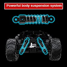 a599a664 5782 4889 ad49 05af86c806c3.  CR0,0,300,300 PT0 SX220 V1    - Remote Control Car, Uniway Scale RC Cars 4WD 30 KM/H 2.4 GHZ High Speed Racing Car for Boys and Girl 6-12 Gift, 35+ Min Play, RC Trucks 4x4 Offroad with 2 Rechargeable Batteries-Black