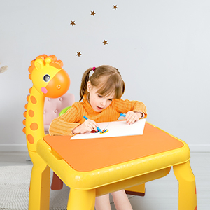 a64deac8 b0df 4f4a b14d 2513e273d211.  CR0,0,300,300 PT0 SX300 V1    - Toddler Kids Activity Table Set Table and Chairs Set with Storage,8-in-1 Multi Activity Table Set, Large Building Blocks Compatible Bricks Toy, Toddlers Activity for Boys Girls, USB Supply with Light