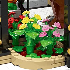 b1649b28 d117 4016 bce9 f9f508a43f5e.  CR0,0,300,300 PT0 SX300 V1    - Garden Tree House Set with Lighting Kit, City Creator Building Bricks Blocks for Teens and Adults, Architecture Educational Construction Toy Teen Boy Gifts Compatible with Lego (2147 Pieces)