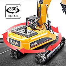 b96f16ca 6e39 4876 9958 bbb775348514.  CR0,0,300,300 PT0 SX220 V1    - TongLi 1580 1:14 Scale All Metal RC Excavator Toy for Adults Remote Control Digger Construction Trucks 2.4Ghz Powerful Upgraded V4 with New Motherboard