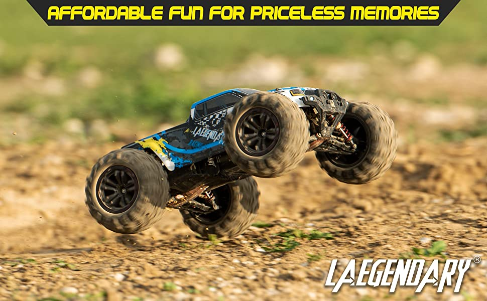 bd4f0368 1424 4fe1 af8a 99da6b198596.  CR0,0,3880,2400 PT0 SX970 V1    - 1:10 Scale Large RC Cars 48+ kmh Speed - Boys Remote Control Car 4x4 Off Road Monster Truck Electric - All Terrain Waterproof Toys Trucks for Kids and Adults - 2 Batteries + Connector for 40+ Min Play