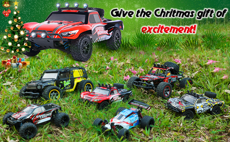 bee807d0 d9cf 40d9 b7f6 fce410ef7911.  CR0,0,970,600 PT0 SX970 V1    - RC Cars, 1/18 Scale High-Speed Remote Control Car for Adults Kids, 40+ kmh 4WD 2.4GHz Off-Road Monster RC Truck, All Terrain Electric Vehicle Toy Boy Gift with 2 Batteries for 40+ Min Play