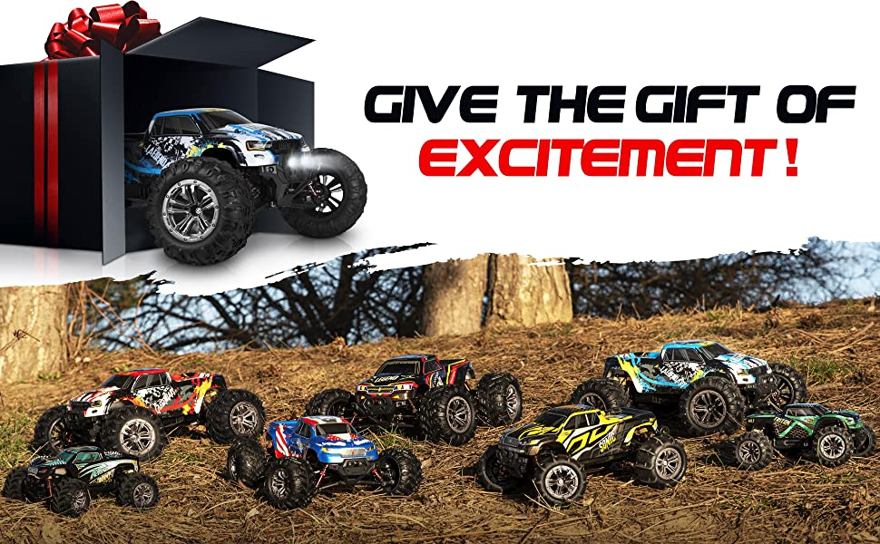bf1a0ee0 0e37 461c 9282 09718584787a.  CR0,0,3880,2400 PT0 SX970 V1    - 1:10 Scale Large RC Cars 48+ kmh Speed - Boys Remote Control Car 4x4 Off Road Monster Truck Electric - All Terrain Waterproof Toys Trucks for Kids and Adults - 2 Batteries + Connector for 40+ Min Play