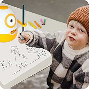 c5b05e31 9d62 4fc2 bbc8 a8956a475573.  CR0,0,800,800 PT0 SX300 V1    - WEDRAW Toddler Learning Educational Toys for 3 4 5 year old kids,Interactive Talking Drawing Robot Teach Math Sight Words Preschool Kindergarten Learning Activities Toy Gift for Girls and Boys Age 3-5
