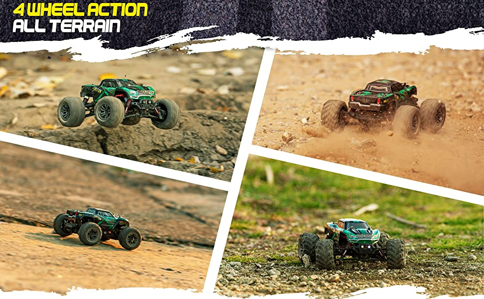 d9ee6f22 a57d 4e6a a065 dffde9af37b4.  CR0,0,3880,2400 PT0 SX970 V1    - 1:20 Scale RC Cars 30+ kmh High Speed - Boys Remote Control Car 4x4 Off Road Monster Truck Electric - 4WD All Terrain Waterproof Toys Trucks for Kids and Adults - 2 Batteries for 40+ Min Play Time
