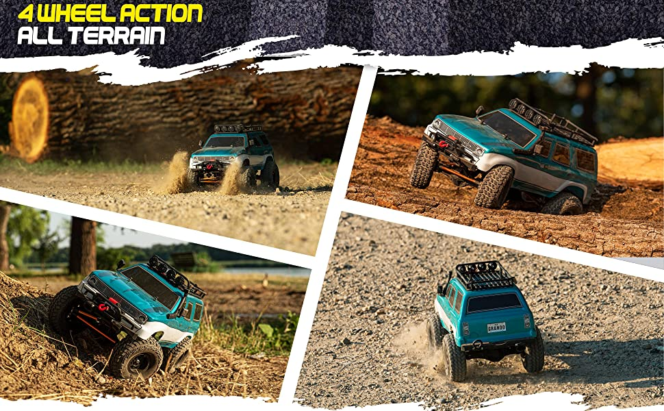 dcf98d57 d37a 4d85 8fa3 b4b303ed0207.  CR0,0,3880,2400 PT0 SX970 V1    - 1:10 Scale Large RC Rock Crawler - 4WD Off Road RC Cars - Remote Control Car 4x4 Electric Truck - IPX5 Waterproof Trucks for Adults - RTR with 5Ch Remote, Battery and Charger