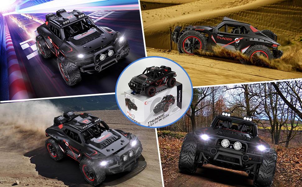 e7fcd13a 34ab 4d93 bcc0 6281adc2e194.  CR0,0,970,600 PT0 SX970 V1    - Remote Control Car, Uniway Scale RC Cars 4WD 30 KM/H 2.4 GHZ High Speed Racing Car for Boys and Girl 6-12 Gift, 35+ Min Play, RC Trucks 4x4 Offroad with 2 Rechargeable Batteries-Black