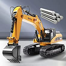 f507fa5a d71c 444f be6b dafddf26d0cd.  CR0,0,300,300 PT0 SX220 V1    - TongLi 1580 1:14 Scale All Metal RC Excavator Toy for Adults Remote Control Digger Construction Trucks 2.4Ghz Powerful Upgraded V4 with New Motherboard