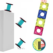 0b629289 a9f0 4e56 bd95 3d445db8eebc.  CR0,0,880,880 PT0 SX220 V1    - JUMAGA Magnetic Tiles Marble Run for Kids, 3D Pipes Magnets Building Blocks Track Set, STEM Educational Toy Gift for Toddlers Boys Girls Age 3+, 125 Piece