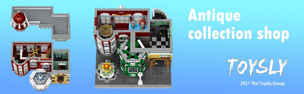 1bc337ab d8cd 40c6 a303 da0b1ac199cd.  CR0,0,970,300 PT0 SX970 V1    - TOYSLY Street Antique Collection Shop MOC Building Blocks and Engineering Toy, Construction Set to Build, Model Set and Assembly Toy for Teens and Adult 3037 Pieces