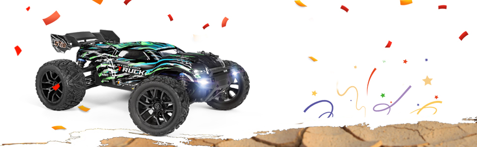 1e6b155a 2096 4078 a251 1fb09c2f0f4f.  CR0,0,970,300 PT0 SX970 V1    - HAIBOXING RC Cars Hailstorm, 36+KM/H High Speed 4WD 1:18 Scale Electric Waterproof Truggy Remote Control Off Road Monster Truck with Two Rechargeable Batteries, RTR ALL Terrain Toys for Kids and Adult