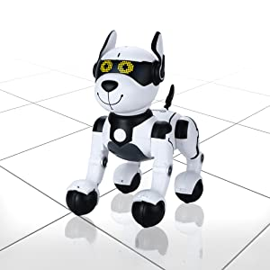 22f8f8c8 efff 4563 b242 b9a761dcd2d3.  CR0,0,2000,2000 PT0 SX300 V1    - Contixo R4 IntelliPup Robot Dog, Walking Pet Toy Robots for Kids, Remote Control, Interactive & Smart Dancing Dance, Voice Commands, RC Dog for Gift Toy for Girls & Boys Ages 2,3,4,5,6,7,8,9,10 Years