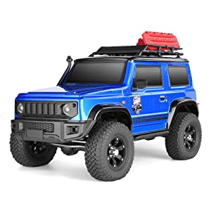 26f3a663 521a 4651 a83f e9721937679e.  CR0,0,1000,1000 PT0 SX300 V1    - RGT RC Crawler 1:10 4wd Crawler Off Road Rock Cruiser RC-4 136100V3 4x4 Waterproof Hobby RC Car Toy for Adults (Blue)