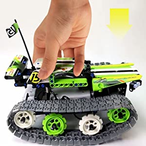 27fc3aa1 2752 4305 9678 f31ad3e17cf3. CR0,0,800,800 PT0 SX300   - Remote Control Car Building Kit - RC Tracked Racer 3 in 1 Building Set, Fun, Educational, Learning, STEM Toys, Best Gift for Kids Age 8-12, 14 Year Old Boys and Girls (353pcs)