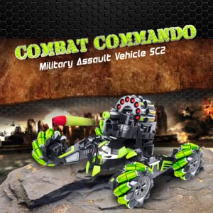 2973b018 8e8f 4408 98c0 6a2d962b8f63.  CR4,0,911,911 PT0 SX300 V1    - Contixo SC2 All Terrain Combat Commando Military Assault Vehicle 2.4GHz Remote Control Car for Boys 8-12, RC Car Toy Vehicle Comes with 36 Bullets. Moves Fast and Battles with Other SC2 rc Cars!