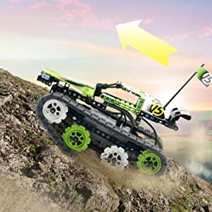 2efc3158 c4c1 4c36 80d1 02e8fba12d68. CR0,11,750,750 PT0 SX300   - Remote Control Car Building Kit - RC Tracked Racer 3 in 1 Building Set, Fun, Educational, Learning, STEM Toys, Best Gift for Kids Age 8-12, 14 Year Old Boys and Girls (353pcs)