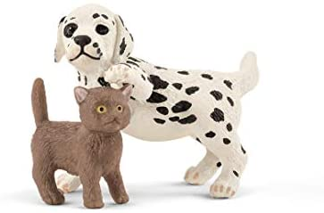 31FOAGe3QAL. AC  - Schleich Farm World 27-piece Vet Practice Playset with Animal Toys for Kids Ages 3-8