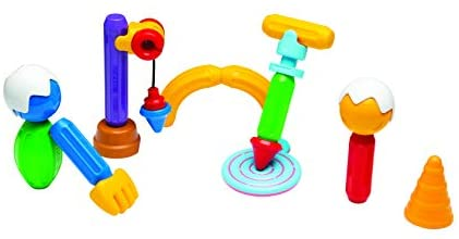 31o5IHqkGnL. AC  - STICK O Role Play 26 Piece Magnetic Building Set, Rainbow Colors, Educational STEM Construction Toy Ages 18M+
