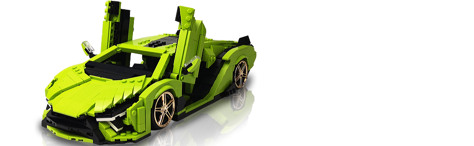 362e46c6 b7dc 4f22 80ff 2be61f81e480.  CR0,0,970,300 PT0 SX970 V1    - Nifeliz Mini SAI Sports Car MOC Building Blocks and Construction Toy, Adult Collectible Model Cars Set to Build, 1:14 Scale Sports Car Model (1133 Pcs)
