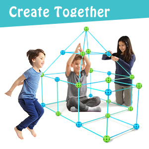 38f4068e 6124 461f a6ea 54fc06387d44.  CR0,0,300,300 PT0 SX300 V1    - Obuby Kids Fort Building Kit Construction STEM Toys for 5 6 7 8 9 10 11 12 Years Old Boys and Girls Ultimate Forts Builder Gift Build DIY Building Educational Learning Toy for Indoor & Outdoor